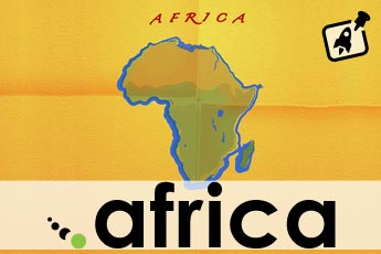 .Africa domain sunrise